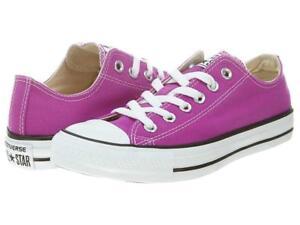 Converse Trendy Fashion PURPLE CACTUS Ox Low Canvas Shoes Unisex Shoes NWT DISC