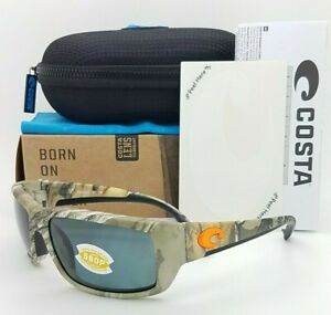 NEW Costa Fantail  Sunglasses Realtree Grey 580P TF 69 OGP AUTHENTIC realtree