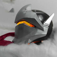 HOT Overwatch Genji Full Face Mask Game OW Helmet Masquerade Cosplay Party Props
