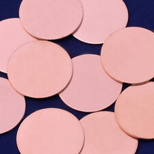 "20pcs about 1"" tibetara Copper round Stamping Blank jewelry 18 Gauges 10147010"