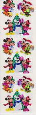 Sandylion Shiny CHRISTMAS Disney Mickey & Minnie Scrapbooking Stickers E18
