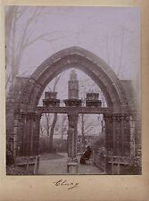 Cluny Paris Photo Amateur Vintage citrate 1900