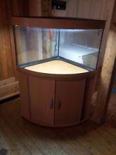 Eck-Aquarium Juwel Trigon 190 Liter mit Unterschrank in Buche / Text lesen !!!