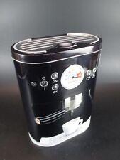 Kaffee Kaffeedose Coffee Espresso  Blechdose Vorratsdose 22 cm schwarz,NEU
