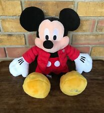 New listing Disney Store Exclusive 2010 Mickey Mouse Winter Plush Soft Toy