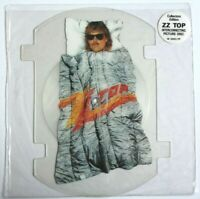 EX/EX ZZ Top Rough Boy Shaped Vinyl Picture Pic Disc Frank Beard