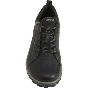 New Men`s ECCO Urban Lifestyle Sneakers - Black 830684