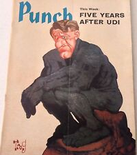 Punch Magazine Five Years After UDI November 11-17, 1970 070917nonrh