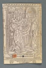 1507 vostre Book of Hours Stundenbuch livre d 'Leber Annunciation annonce