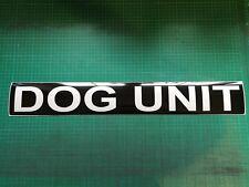 DOG UNIT REFLECTIVE MAGNET K9 HANDLER  SITE SECURITY PATROL UNIT  620mm x1