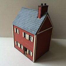 NEW  28mm ACW BRICK HOUSE B prepainted  kit.
