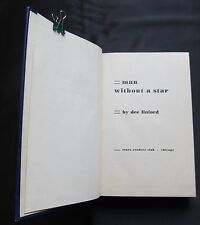Man Without a Star ~ Dee Linford ~ Sears Reader Club Special Edition ~ 1952