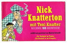 Nick Knatterton Nr. 5 - Martens-Verlag 1955, Erstauflage  #2