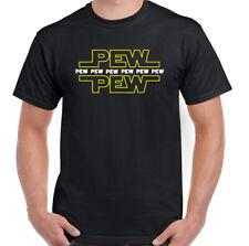 PEW PEW PEW T-SHIRT Lightsaber Unisex Tee Top