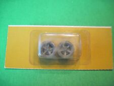 1 Package 1/24 Cox slot car 9210 BRM front tapped wheels