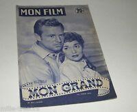 Revue MON FILM 1954 : Mon grand - Jane WYMAN - Sterling HAYDEN