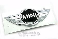 BMW MINI - NEW BONNET BADGE EMBLEM LCI R55 R56 R57 R58 R59 - 08/2010 > 2015