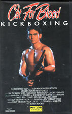 Kickboxing  OUT FOR BLOOD (1992) VHS ViViVideo -  Don Wilson