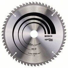 Bosch Optiline Wood Circular Saw Blade 254x30x60 2608640436