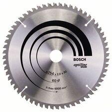 Bosch Optiline Wood Circular Saw Blade 254x30x60 2608640436