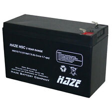 HAZE 12V 7ah  BATTERY AGM - ELECTRIC BIKES X 3 THREE BATTERIES