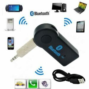 Car Bluetooth Music Receiver Audio Adapter Connector Handfree Wireless Universal