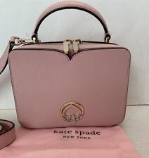 Kate Spade Vanity Mini Top Handle Bag Tutu-Pink PXRUB036 NWT $198