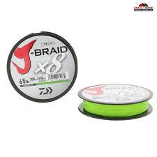 (2) Daiwa x8 Braid Fishing Line 65lb Test 330 Yards Chartreuse ~ New