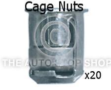 Cage Nut 6MM Drilling 10MM Thickness 1,5-5MM Citroen Saxo/Xsara etc 253ci 20PK