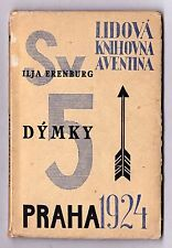 KAREL Teige Seppelliti mrkvicka Ceco Avant-garde Book design AVENTINA erenburg 1924