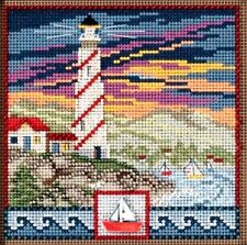 Mill Hill Buttons Beads Counted Cross Stitch Kit ~ LIGHTHOUSE #14-1714 Sale