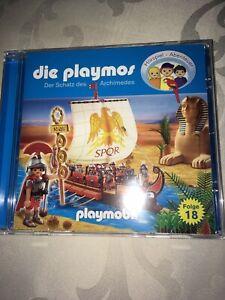 Die Playmos CD Folge 18 Neuwertig Schatz des Archimedes ab 5 Jahren Playmobil