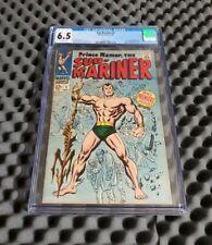 Sub-Mariner #1 CGC 6.5 1968 1st Premier Issue Prince Namor Marvel 🔥Iconic Key🔥