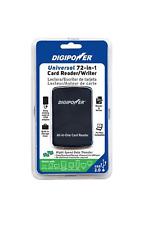 Digipower Universal 72 in 1 Card Reader / Writer Compatible Windows & Mac-NIP