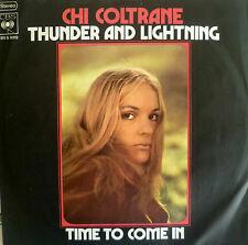 "7"" 1973 ! CHI COLTRANE : Thunder And Lightning /MINT-?"