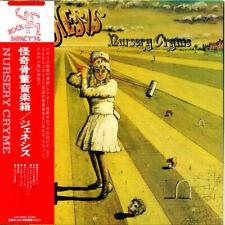 GENESIS, NURSERY CRYME, AUTH LTD ED SHM-CD, JAPAN 2013, VJCP-98016 (EXCELLENT)