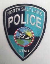 North Salt Lake Police, Utah old shoulder patch