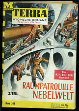 Terra-- Utopische Romane -- Science Fiction -- Band 309 - 2. Teil - Romanheft --