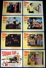SQUAD CAR T-MEN THRILLER VINTAGE FORD POLICE CRUISER 1960 LOBBY CARD SET