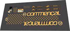 COMMENCAL Supreme DH V1 2007 Sticker / Decal Set