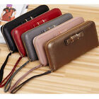 Fashion Women Lady Genuine Leather Wallet Bag Case Clutch Coin Card Holder Purse