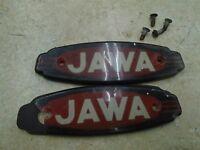 JAWA 350 Californian Twin Gas Fuel tank Emblems 1971 RB-86