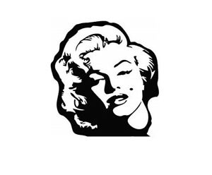 4 sizes marylin monroe vinyl wall sticker art graphic decal living room bedroom