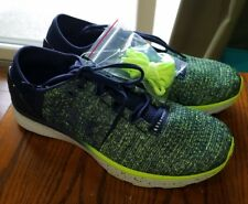 Mens sneakers lime green & Navy Blue Under Armour UA charged bandit 3 sz 7 or 8