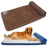 Almohada de Perro Y GATO Cama Colchon Cojin Sofa de Mascota para Dormir de Lana