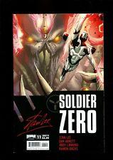 SOLDIER ZERO 11 (9.8) STAN LEE BOOM (b000)