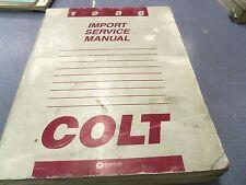 1986 Dodge Colt Factory Service Manual L@@K FREE Shipping!!
