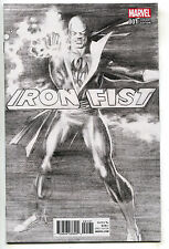 Iron Fist 1 Marvel 2017 NM 9.6 1:100 Alex Ross Sketch Variant Defenders Netflix