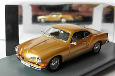 VOLKSWAGEN VW KARMANN GHIA TYP14 GOLD METAL 1974 NEO 44313 1/43 DORE OR LHD