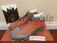 CLOT x Nike Air Jordan 13 Low Sepia Stone 4-13 Terracotta Warriors AT3102-200